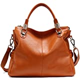 Classic Joker Leather Womens Hobo Handbag
