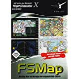 "Flight Simulator X/2004 - FSMap 'Moving Map' mit Anzeige der original ICAO-Chartsvon ""Nbg"""