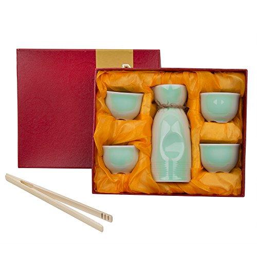 lot-de-5-tasses-a-sake-japonais-cerisier-design-en-porcelaine-peint-a-la-main-poterie-cups-crafts-ve