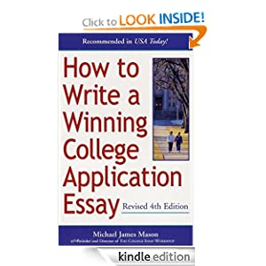writing the college application essay amazon The college essay trap: rescue your college application essay from the maybe pile this is incredibly concise and excellent explanation of what not to do and what to avoid when writing your personal statement it's short, sweet, to the point, and is praised to the skies by legendary princeton admissions dean fred hargadon currently $12 new on.