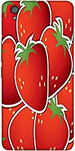 Snoogg Strawberry Sticker Background Card In Vector Format Designer Protectiv...