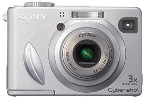 Sony Cybershot DSCW5 5.1MP Digital Camera with 3x Optical Zoom (OLD MODEL)