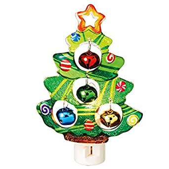Midwest Cbk Christmas Tree With Bells Night Light
