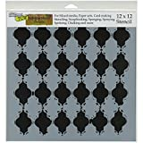 Crafters Workshop Alhambra Crafter's Workshop Template, 12-Inch by 12-Inch