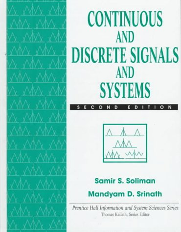 Continuous and Discrete Signals and Systems PDF