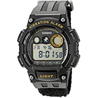 Casio W735HB-1AV Super Illuminator Quartz Men's Casual Watch (Black)