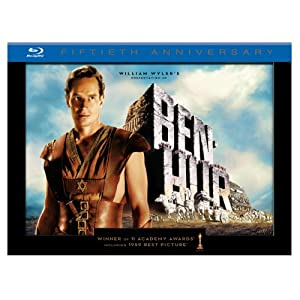 Ben-Hur (50th Anniversary Ultimate Collector's Edition) [Blu-ray] $29