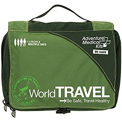 Tactical First Aid Kit: Adventure Medical Kits World Travel First-Aid Kit by Adventure Medical Kits