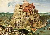 Pieter Bruegel the Elder: The Tower of Babel. Fine Art Print/Poster. Size A1