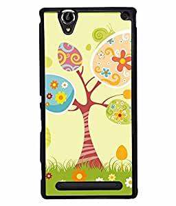 Fuson 2D Printed Designer back case cover for Sony Xperia T2 Ultra - D4309
