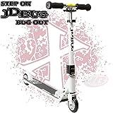 JD Bug Pro Street V3.0 Scooter Pepper White MS136B1