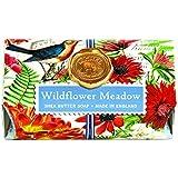 Michel Design Works Bath Soap Bar, Wildflower Meadow, Large