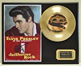 "Elvis Presley in ""Jailhouse Rock"", Limited Edition Gold 45 Record Display. Only 500 made. Limited quanities. FREE US SHIPPING"