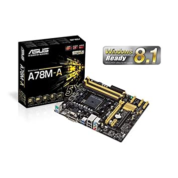 ASUS Micro ATX DDR3 2400 FM2 Motherboard A78M A