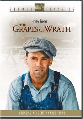 Cover art for  The Grapes of Wrath