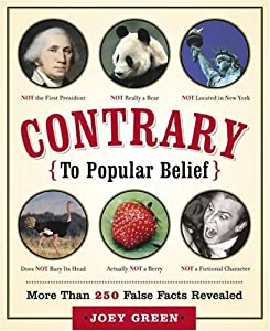 "Cover of ""Contrary to Popular Belief: Mor..."