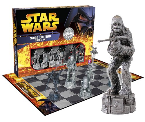 Star Wars Saga Edition Chess Set Image of Star Wars Saga Edition Chess Set