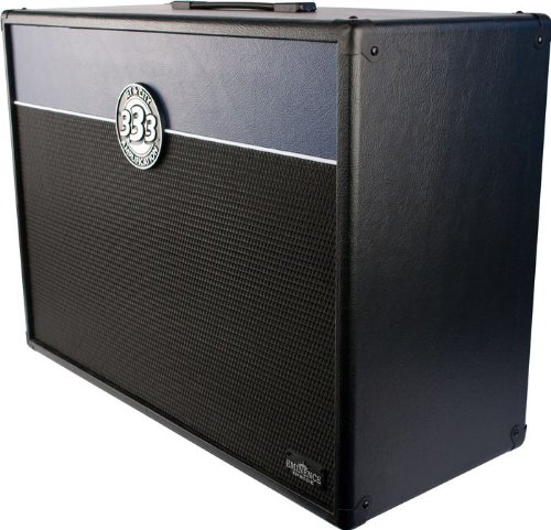 Jet City Amplification Jca24S+ 2X12 Guitar Speaker Cabinet 200W Black/Blue