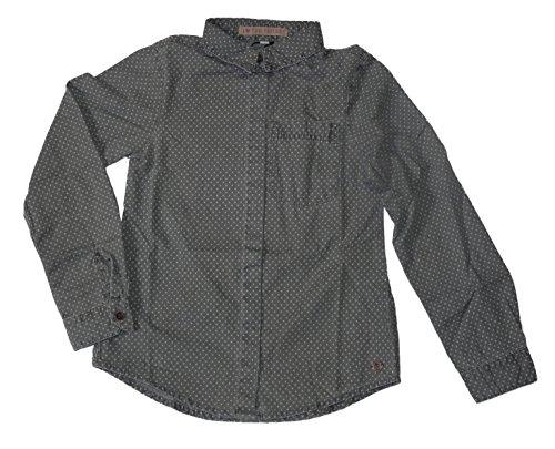 TOM TAILOR - Camicia - A pois - Maniche lunghe  -  ragazza grigio grigio