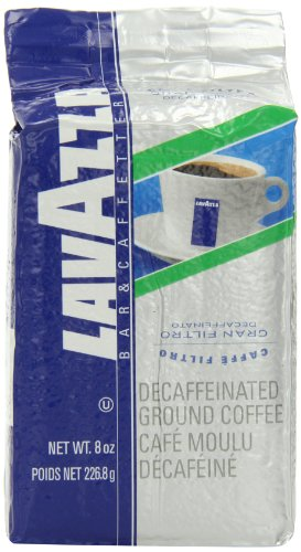 Lavazza Gran Filtro Decaffinated Ground Coffee, 8 Ounce Bag