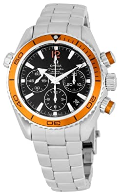 Omega Women's 222.30.38.50.01.002 Seamaster Black Dial Watch