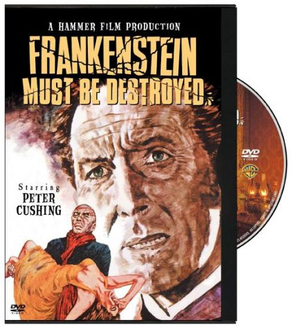 Frankenstein Must Be Destroyed [DVD] [1969]