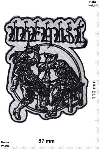 Patch - Urfaust - Black Metal - HQ - Musica - Urfaust - Iron on Patch - toppa - applicazione - Ricamato termo-adesivo""