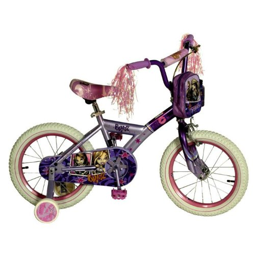 Bratz 16-Inch Passion For Fashion Girls' Cruiser Bike