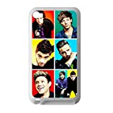 One Direction Apple iPod Touch 4th Case Cover Protecter - Retail Packaging - Laser Rubber