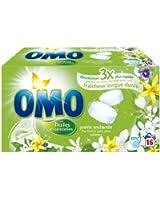 Omo - Lessive Tablette - Lilas Blanc - 32 Tabs - Lot de 2