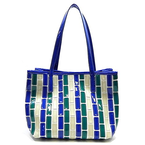 rodeo-no-272-jessie-new-style-canvas-patchwork-quilt-weekender-shopper-tote-hand-bagblue