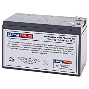 BE550R - NEW UPS Battery for BE550R - APC Back-UPS ES 550VA