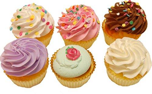 Fake Cupcakes 6 Pack Cupcake (Display Fake Cupcakes compare prices)