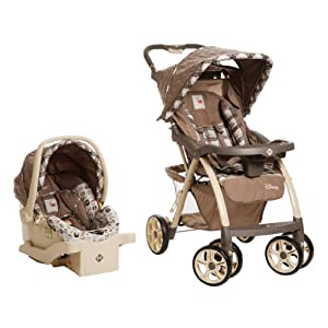 Disney Saunter Luxe Travel System, Sweet Silhouettes
