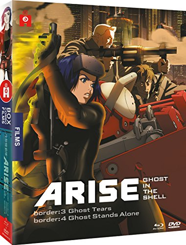 攻殻機動隊 ARISE borders 3 & 4 [Blu-ray + DVD](海外inport版)