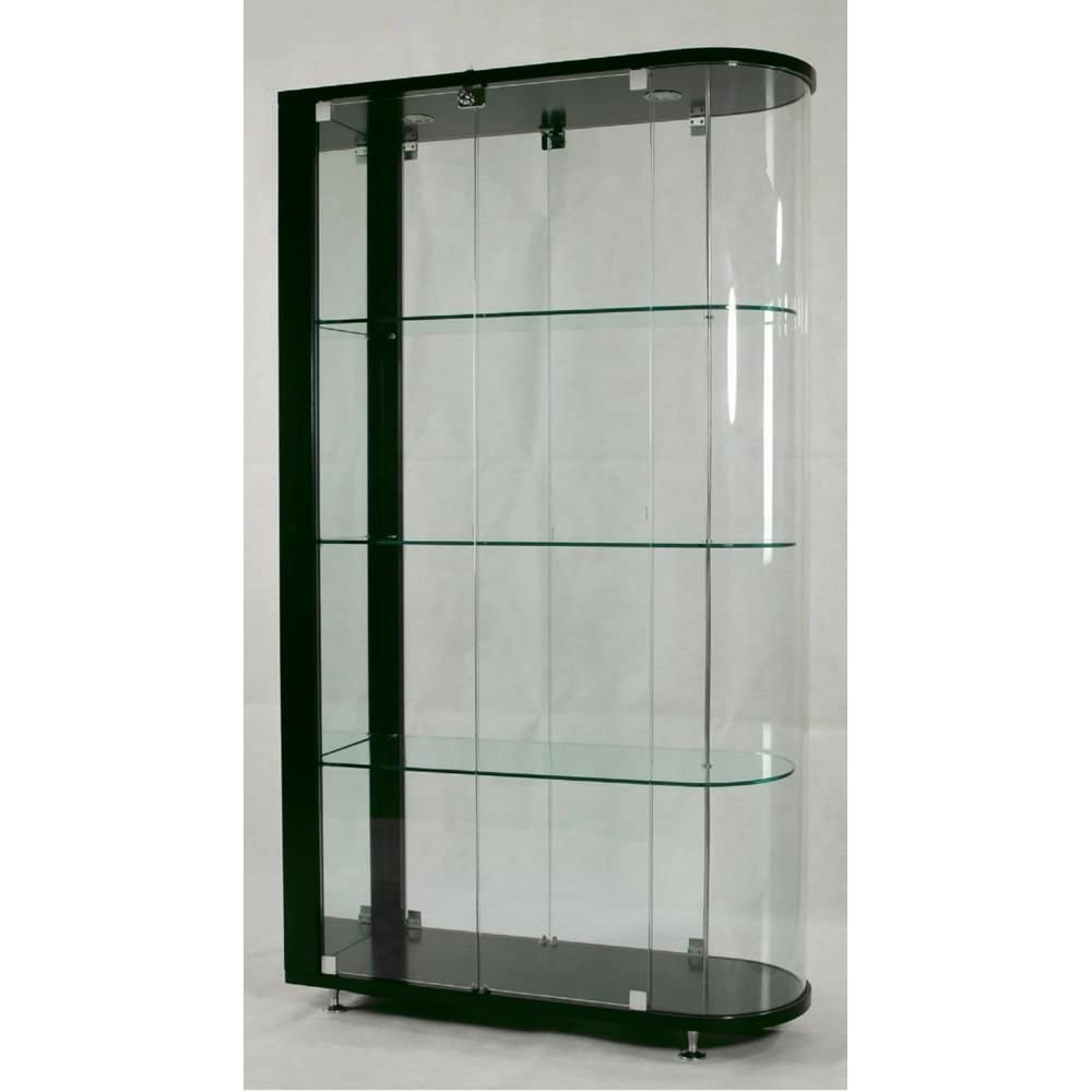 10 awesome contemporary curio cabinet home enlivening stuffs - Ikea glass cabinets ...