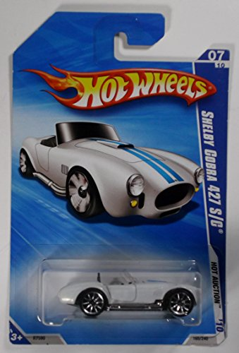 Hot Wheels 2010-165/240 Hot Auction 07/10 Shelby Cobra 427 S/c 1:64 Scale - 1