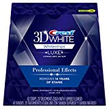 Crest 3D White Whitestrips Professional Effects – Teeth Whitening Kit 20 Treatments (Packaging May Vary)