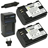 Wasabi Power Battery and Charger Kit for Canon LP-E6 & Canon EOS 5D Mark II / EOS 5D Mark III / EOS 6D / EOS 7D / EOS 60D / EOS 60Da