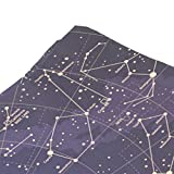 ALAZA-Universe-Galaxy-Nebula-Space-12-Constellation-Zodiac-Sings-Tapestry-Wall-Hanging-Light-weight-Polyester-Fabric-Cottage-Dorm-Wall-Art-Home-Decoration-Blue-Z186