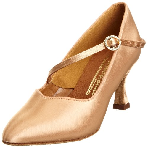 International Women's ICS Super Star Single Strap Diamante Dance Shoe