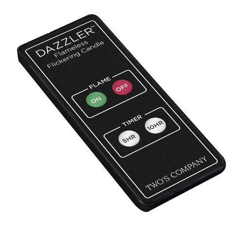 Two'S Company Remote For Dazzler Candle