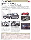 1987 Daihatsu Charade & GT Brochure Korea