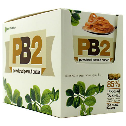 Bell Plantation PB2 Powder Peanut Butter 12 Packets-0.85 Oz each