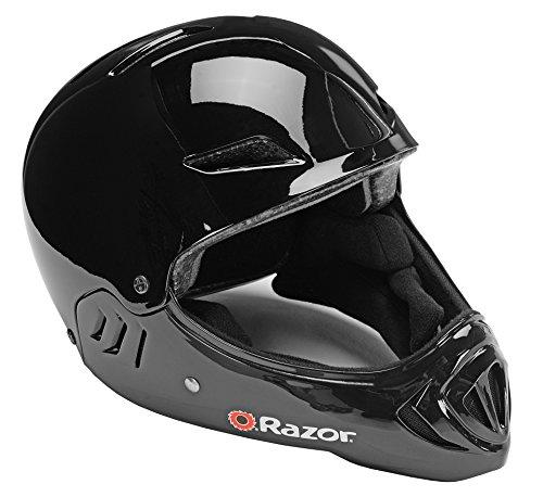 Razor Child Full Face Helmet, Gloss Black (Youth Full Face Helmets compare prices)
