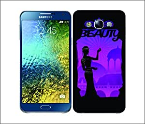 Galaxy Printed 2456 Nature Of Gods Beach Hard Cover for Samsung S3