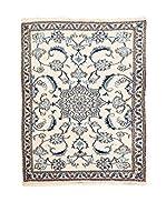 Navaei & Co. Alfombra Persian Nain Marfil/Azul 130 x 88 cm