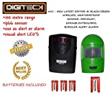 A9C-NEW LATEST EDITION IN GREEN WIRELESS WEATHERPROOF DIY Wireless Weatherproof Garden, Shed, Driveway, Garage, Outbuilding Burglar Security Alarm supplied with batteries