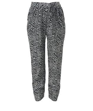Maternity Leopard Print Trousers