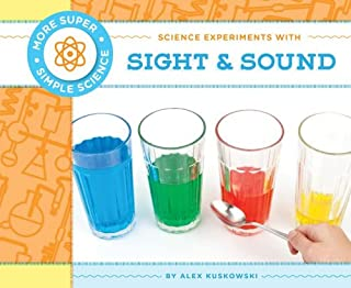 Book Cover: Science Experiments with Sight & Sound